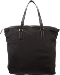 Michael Kors - Leather-trimmed Nylon Tote Black - Lyst