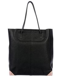 Alexander Wang - Prisma Leather Tote Black - Lyst