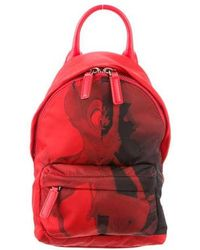 a0d1d41ab8b1 Lyst - Givenchy Men s Printed Logo Leather Backpack in Black