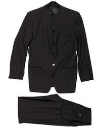 KENZO - Mandarin Wool Suit - Lyst