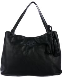 e1c3c8444a6f Lyst - Tory Burch  Thea  Shoulder Bag in Metallic