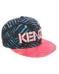 KENZO - Printed Logo Cap - Lyst