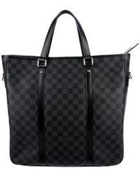 Louis Vuitton - Damier Graphite Tadao Mm Black - Lyst