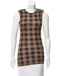 Torn By Ronny Kobo - Printed Sleeveless Top W/ Tags - Lyst