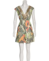 Matthew Williamson - Embellished Mini Dress W/ Tags - Lyst