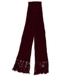 Marc Jacobs - Fringe Knit Scarf - Lyst