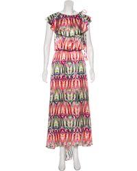 Alexis - Printed Maxi Dress Pattern Prints - Lyst