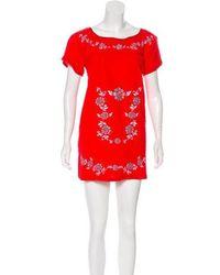 Sensi Studio - Embroidered Casual Dress - Lyst