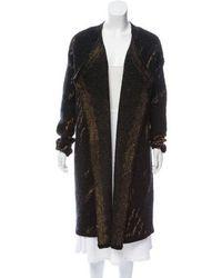 Donna Karan - Cashmere-blend Casual Jacket Black - Lyst
