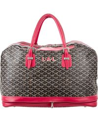 Goyard - Expandable Duffle Bag Black - Lyst