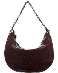 Chanel - Modern Chain Hobo Brown - Lyst