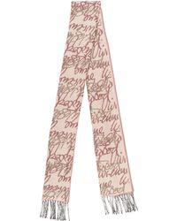 Vivienne Westwood - Wool Jacquard Shawl Violet - Lyst