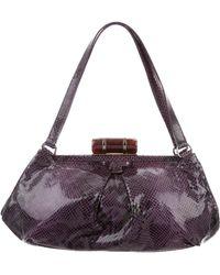 Miu Miu - Miu Embossed Leather Bag - Lyst