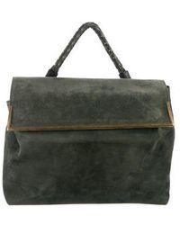Damir Doma - Suede Messenger Bag Green - Lyst