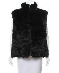 Glamourpuss - Reversible Fur Vest W/ Tags - Lyst
