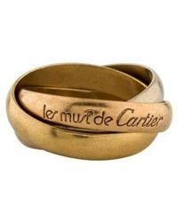Cartier - Les Must De Rolling Rings Yellow - Lyst