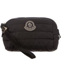 Moncler - Quilted Beauty Case Black - Lyst