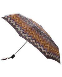 Missoni - Nylon Printed Umbrella W/ Tags Multicolor - Lyst
