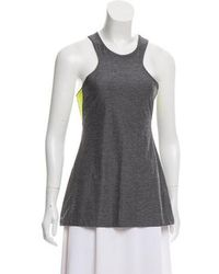Charli Cohen - Athletic Sleeveless Top Grey - Lyst