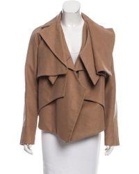 Nellie Partow - Asymmetrical Long Sleeve Jacket - Lyst