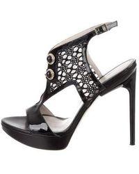 Jason Wu - Embellished Platform Sandals - Lyst