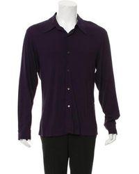 Ann Demeulemeester - Woven Button-up Shirt - Lyst