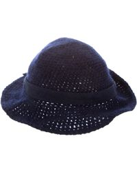 Givenchy - Knit Bucket Hat Navy - Lyst