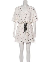 Band of Outsiders - Silk Knee-length Dress W/ Tags - Lyst