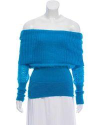 Alessandro Dell'acqua - Mohair Knit Sweater - Lyst