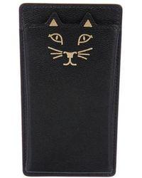 Charlotte Olympia - Feline Iphone 6 Case Black - Lyst