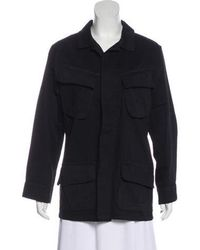 Anine Bing - Elongated Button-up Jacket - Lyst
