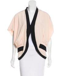 Viktor & Rolf - Short Sleeve Silk-accented Jacket - Lyst