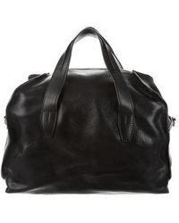 Alexander Wang - Leather Weekender Bag Black - Lyst