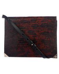Alexander Wang - Embossed Prisma Crossbody Bag Black - Lyst