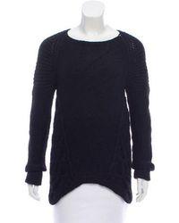 VPL - Knit Asymmetrical Sweater - Lyst