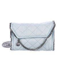 8d6208a1f2d3 Stella McCartney - Mini Quilted Falabella Crossbody Bag - Lyst