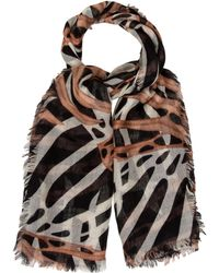 Proenza Schouler - Abstract Print Scarf - Lyst