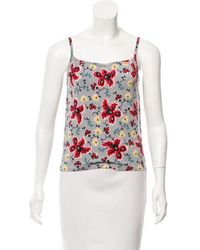 John Galliano - Printed Knit Top - Lyst