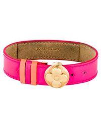 Louis Vuitton - Wish Bracelet Gold - Lyst
