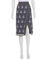 Altuzarra - Printed Pencil Skirt - Lyst