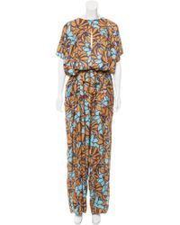 TOME - Printed Wide-leg Jumpsuit W/ Tags Multicolor - Lyst