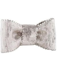 Kate Spade - All Wrapped Up Statement Ring Silver - Lyst