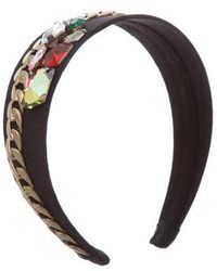 3.1 Phillip Lim - Jewel-embellished Grosgrain Headband - Lyst
