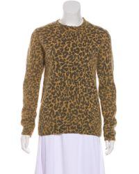 Each x Other - Alpaca Leopard Print Sweater Tan - Lyst