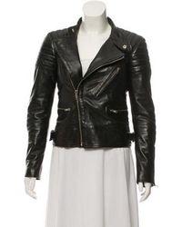 BLK DNM - Leather Moto Jacket Black - Lyst