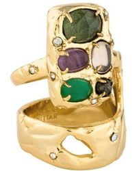 Alexis Bittar - Elements Crystal Ring Gold - Lyst