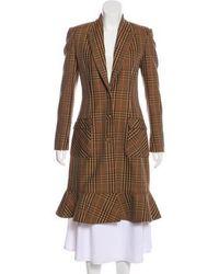 Altuzarra - Wool Blend Long Coat - Lyst