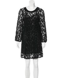 Étoile Isabel Marant - Crochet Lace Mini Dress - Lyst