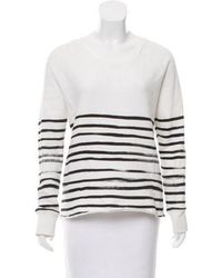 Each x Other - Striped Distressed Sweater - Lyst