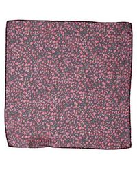 Cacharel - Floral Square Scarf - Lyst
